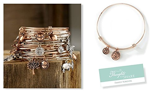 giftcraft-thoughts-to-share-expandable-bracelet-family-forever-celebrate-this-family-rose-gold-tone