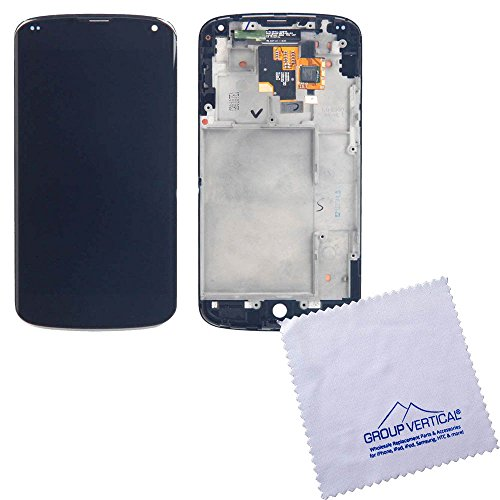 Touch Screen Digitizer + Lcd Assembly W Frame For Lg Nexus 4 E960