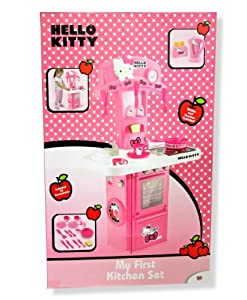Hello kitty my first kitchen set with kettle and toaster for First kitchen set