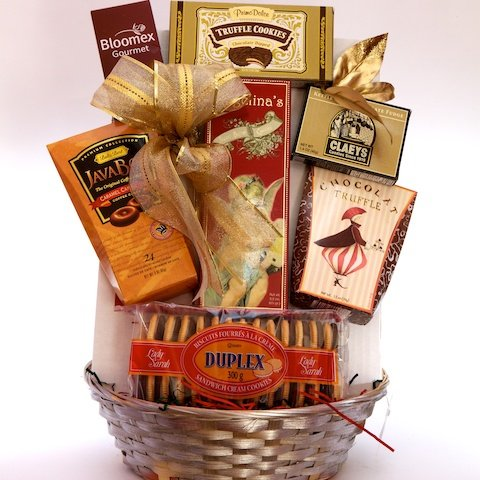Chocolate & Cookie Lover Gift Basket