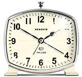 """Toledo Alarm Clock, 5""""Hx5""""Wx2.5""""D, CREAM"""
