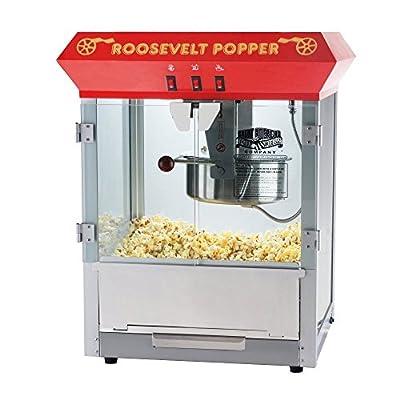 Great Northern Popcorn 6010 Roosevelt Antique Popcorn Maker by DTX International Inc
