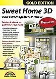 Sweet Home 3D Édition premium avec 1100modèles 3D supplémentaires et manuel imprimé, l'idéal pour les architectes et planificateurs - Pour Windows 10, 8, 7, Vista ou XP et MAC...