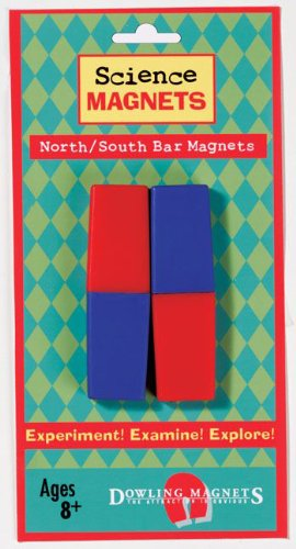 Dowling Magnets DO-712 Science Magnets North-South Bar- Magnets - 1