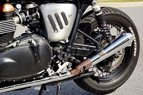 Mr Luckys Antique Copper 6 Inch Motorcycle Heatshield for Harley, Bobber, Chopper, Vintage, Retro, Custom 1