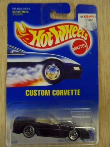 Hot Wheels Custom Corvette Purple #200 Die-Cast Car