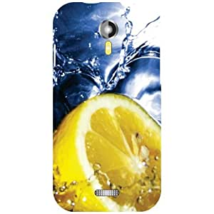 Micromax A 117 Phone Cover - Lemon Matte Finish Phone Cover