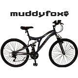 "Muddyfox Lift 26"" Jump Bike - Boys/Men - Blue and White - CRMO Steel Frame (New 2015 Range)"
