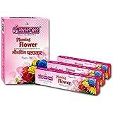 MaayasDeep Morning Flower-Rose Incense Sticks-Rose Flower Fragrance-Approx 180 Sticks-(Weight-240 Grams)