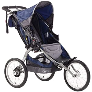 BOB Ironman Single Stroller Navy