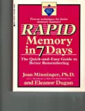 Rapid Memory in Seven Days: The Quick-and-Easy Guide (Excell-erated skills)