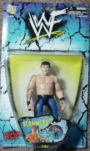 Taka from Wrestling - WWF (Jakks Pacific) Slammers - Series 2 Action Figure