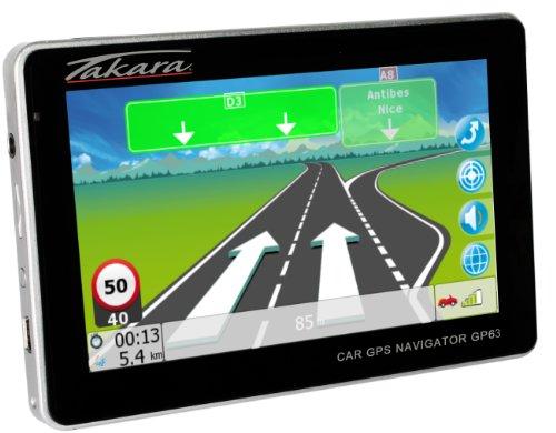 Takara-GP63-GPS-Nomade-cran-tactile-43-Lecteur-Multimdia-Mmoire-interne-2-Go-Noir