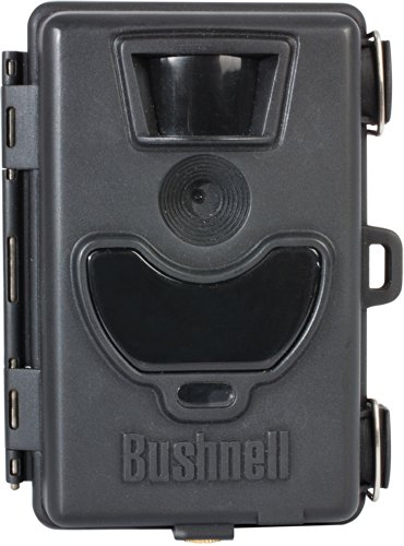 Bushnell 119514C 6MP No-Glow Black LED Surveillance Camera with Night Vision