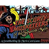 Z-Man Games 4006 - B-Movie: Scurvy Musketeers Spanish Main by Z-Man Games