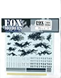 Fm-d0002 Digital Camouflage Gray Decals 1 S
