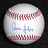 Aaron Judge signed autographed MLB Baseball JSA COA & Display Cube