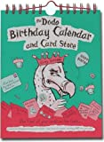 Dodo Birthday Calendar and Card Store: A Pocketed Birthday/Anniversary Card Calendar - Keep Track of Everyone's Birthday AND Store Your Cards