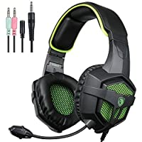 SADES 807 Wired Stereo Gaming Headset Over The Ear Headband Headphone For New Xbox One PS4 PC Laptop Mac IPad...