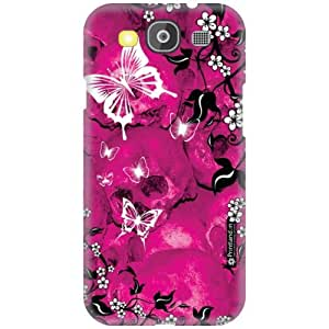 Printland Designer Back Cover for Samsung Galaxy S3 Neo - Pink Colored Case Cover