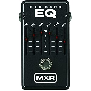 MXR 6-Band Graphic EQ Pedal