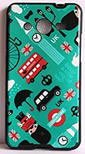 Vcare Shoppe Exclusive Silicon Printed Soft Back Case Cover For Samsung Core Prime G360