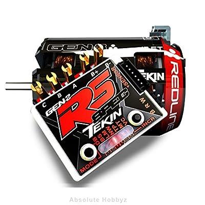 Tekin RS Gen2 SPEC Sensored Brushless ESC/Gen3 Motor Combo (17.5T RPM)