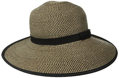 san-diego-hat-company-womens-ultrabraid-sun-brim-capped-back-with-band-mixed-black-one-size