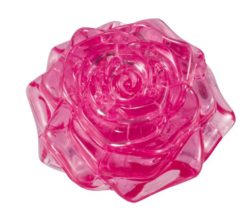 Original 3D Crystal Puzzle - Rose Pink