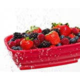 Progressive Prep Works - Berry Colander (Red or Purple, Selected at Random)