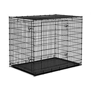MidWest Solutions 2 Door Large Dog Crate from MIDWEST METAL PRODUCTS