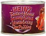 Heinz Taste of Home Scrumptious Strawberry Jam Pudding 300 g (Pack of 6)