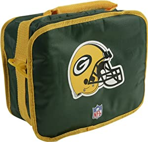 Green Bay Packers NFL Football Insulated Lunch Bag Tote