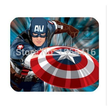 America Captain Custom Classic Style Customized Rectangle Computer Supplies Gaming Mouse Pad KO/363901