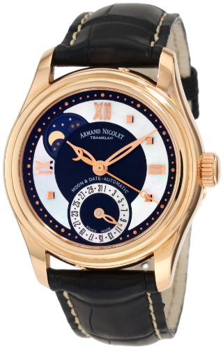 Armand Nicolet Women's 7151A-NN-P915NR8 M03 Classic Automatic Gold Watch