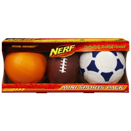 Review Of Nerf Pro Shop Mini Sports Pack