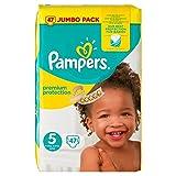 Pampers New Baby Pañales Tamaño 5de protección premium Jumbo pack 47por paquete