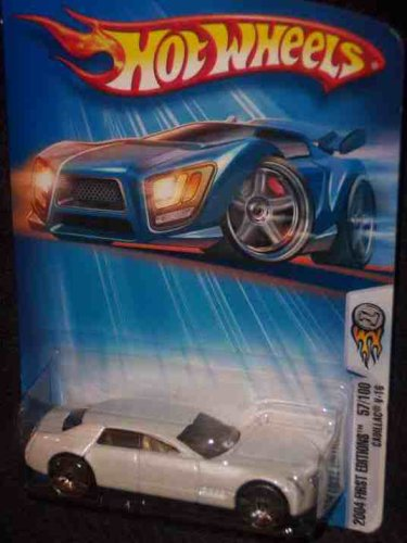 2004 First Editions -#57 Cadillac V-16 Pearl White K-Mart Exclusive #2004-57 Collectible Collector Car Mattel Hot Wheels (Cadillac Hot Wheels compare prices)