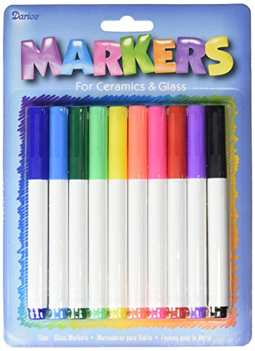 darice-10-piece-ceramic-glass-markers-assorted-colors