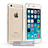 Yousave Accessories iPhone 6 Case Ultra Thin Clear Silicone Gel Cover