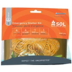 Survive Outdoors Longer Emergency Shelter Kit, 0.393 Pound by Survive Outdoors Longer
