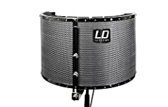 LD Systems RF1 Microphone Screen/Isolation Filter/Shield/Portable Vocal Booth