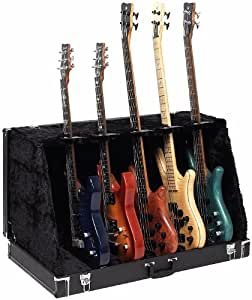 rockstand 5 multiple stage stand for electric guitars or bass musical instruments. Black Bedroom Furniture Sets. Home Design Ideas