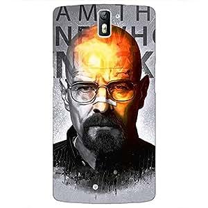 Jugaaduu Breaking Bad Heisenberg Back Cover Case For OnePlus One