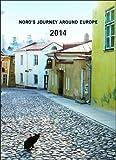 2014 ヨーロッパを旅してしまった猫と12ヵ月手帳 CD-257-NH