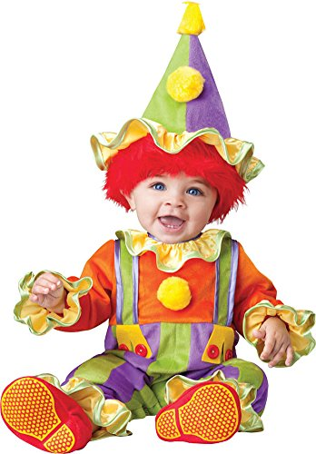 unisex-baby - Cuddly Clown Toddler Costume 18-2T Halloween Costume