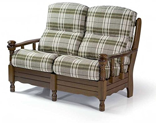 "Armchair 2 seater ""Gabriel"" with choice of finish and coating removable"