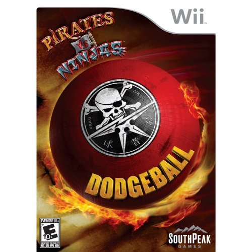 Pirates Vs. Ninjas Dodgeball - Nintendo Wii - 1