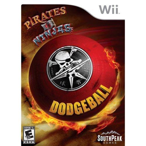 Pirates Vs. Ninjas Dodgeball - Nintendo Wii - 1