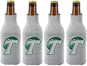 Buy NCAA Tulane Green Wave Glitter Bottle Suit Koosie (Pack of 4) by Kolder